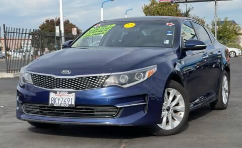 2017 Kia Optima for sale at LUGO AUTO GROUP in Sacramento CA