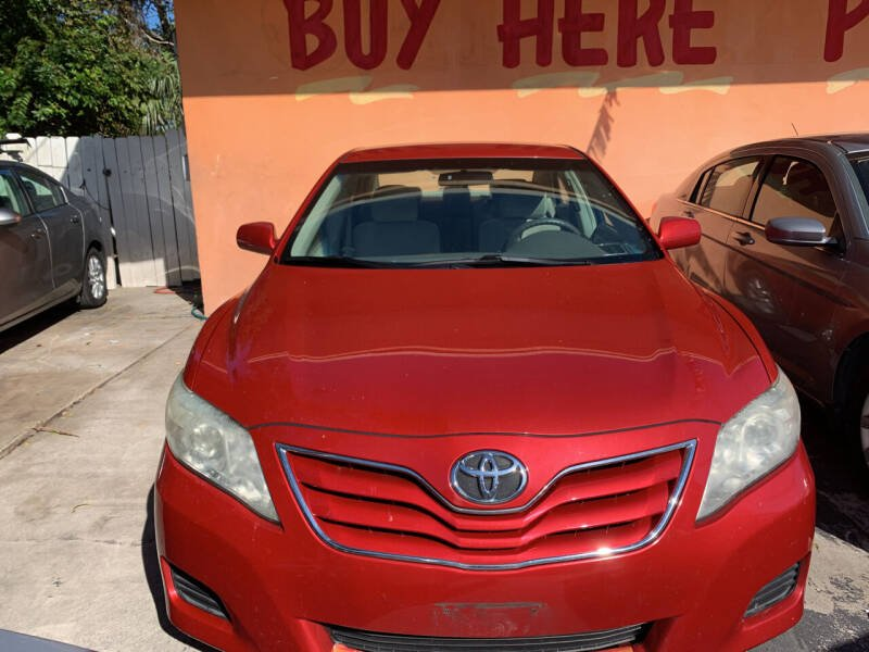 2011 Toyota Camry for sale at DREAM CARS in Stuart FL
