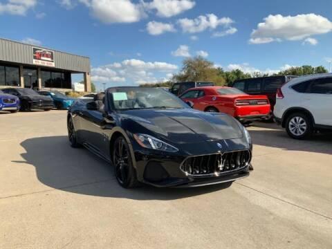 2018 Maserati GranTurismo for sale at KIAN MOTORS INC in Plano TX