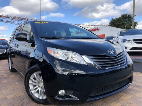 2011 Toyota Sienna for sale at Cars of Tampa in Tampa FL