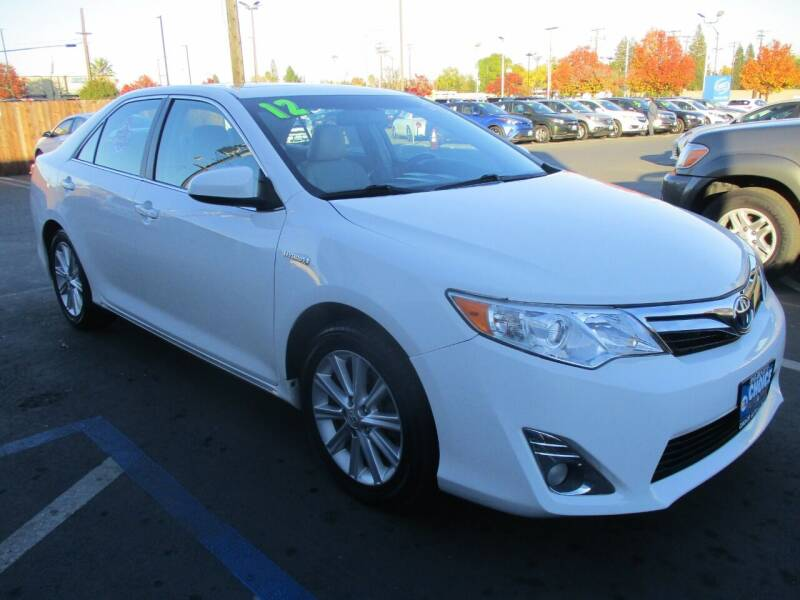 2012 Toyota Camry Hybrid for sale at Choice Auto & Truck in Sacramento CA