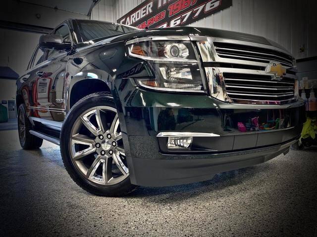 2016 Chevrolet Tahoe for sale at Carder Motors Inc in Bridgeport WV