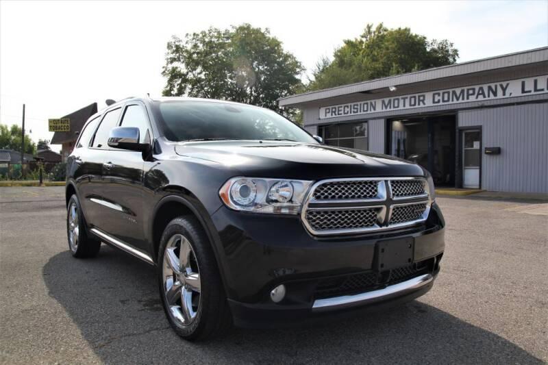 2012 Dodge Durango for sale at Precision Motor Company LLC in Cincinnati OH