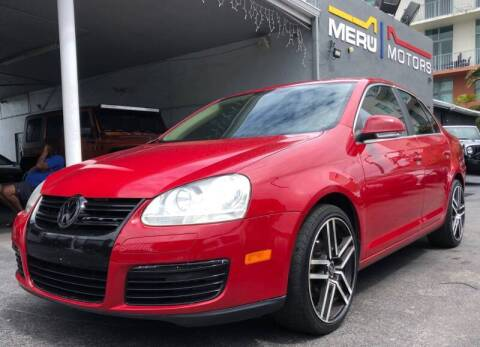 2009 Volkswagen Jetta for sale at Meru Motors in Hollywood FL