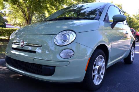 2012 FIAT 500 for sale at Wheel Deal Auto Sales LLC in Norfolk VA