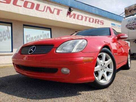 2003 Mercedes-Benz SLK for sale at Discount Motors in Pueblo CO