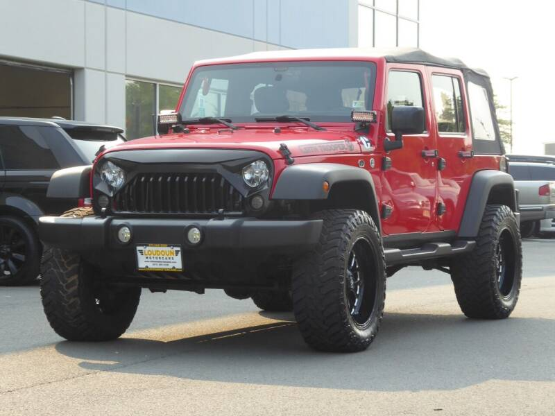 2015 Jeep Wrangler Unlimited for sale in Chantilly, VA