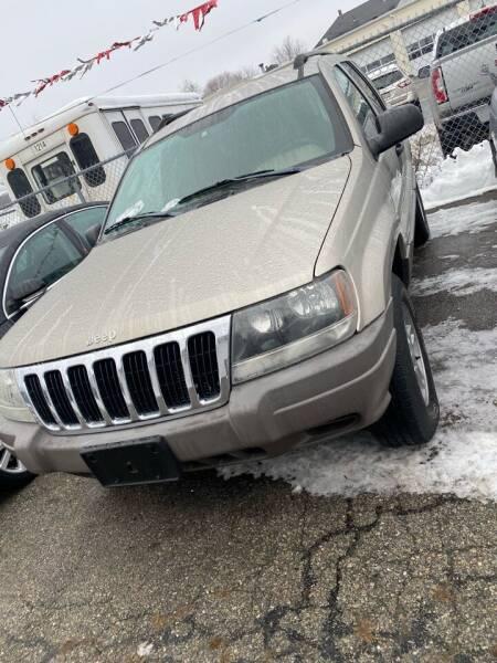 2003 Jeep Grand Cherokee for sale at Bob Luongo's Auto Sales in Fall River MA