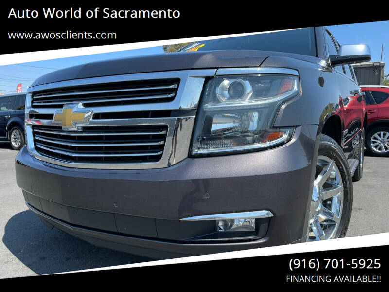 2015 Chevrolet Tahoe for sale at Auto World of Sacramento Stockton Blvd in Sacramento CA