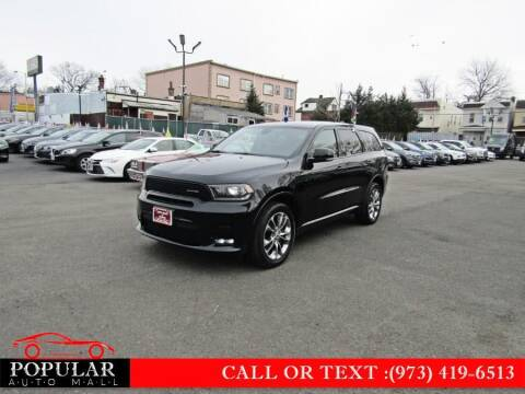 2019 Dodge Durango for sale at Popular Auto Mall Inc in Newark NJ