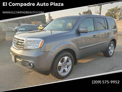 2012 Honda Pilot for sale at El Compadre Auto Plaza in Modesto CA