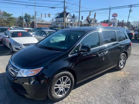 2013 Honda Odyssey for sale at Masic Motors, Inc. in Harrisburg PA