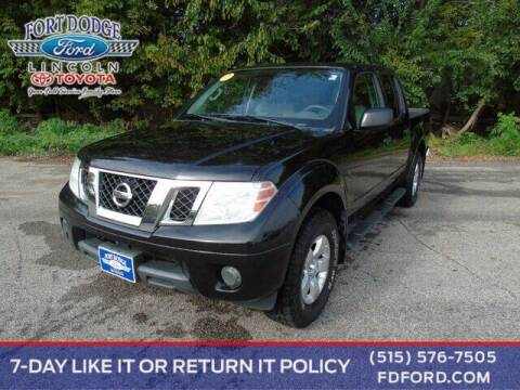 2012 Nissan Frontier for sale at Fort Dodge Ford Lincoln Toyota in Fort Dodge IA