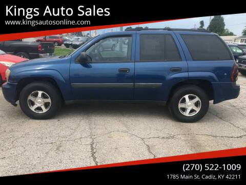 2005 Chevrolet TrailBlazer for sale at Kings Auto Sales in Cadiz KY