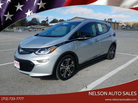2017 Chevrolet Bolt EV for sale at Nelson Auto Sales LLC in Harlan IA