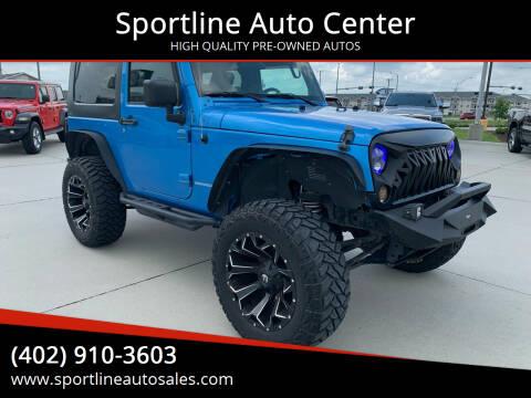 2010 Jeep Wrangler for sale at Sportline Auto Center in Columbus NE
