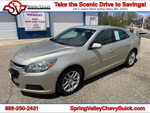 2014 Chevrolet Malibu for sale at Spring Valley Chevrolet Buick in Spring Valley MN