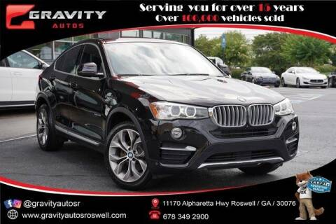 2018 BMW X4 for sale at Gravity Autos Roswell in Roswell GA