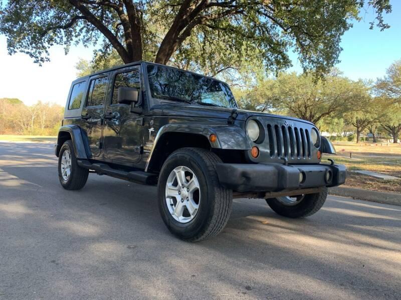 2007 Jeep Wrangler Unlimited for sale at 210 Auto Center in San Antonio TX