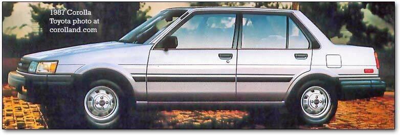1987 Toyota Corolla for sale in Goshen, NY
