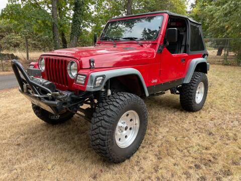 1998 Jeep Wrangler for sale at AC Enterprises in Oregon City OR