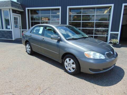 2007 Toyota Corolla for sale at Akron Auto Sales in Akron OH