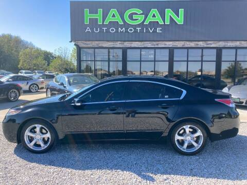 2013 Acura TL for sale at Hagan Automotive in Chatham IL