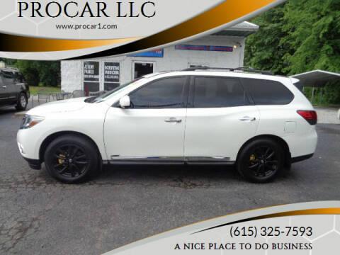 2015 Nissan Pathfinder for sale at PROCAR LLC in Portland TN