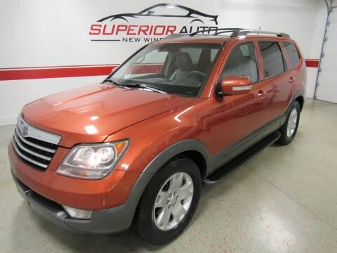 2009 Kia Borrego for sale at Superior Auto Sales in New Windsor NY