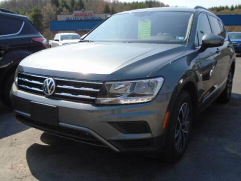 2020 Volkswagen Tiguan for sale at Rogos Auto Sales in Brockway PA
