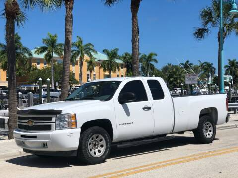 2013 Chevrolet Silverado 1500 for sale at L G AUTO SALES in Boynton Beach FL