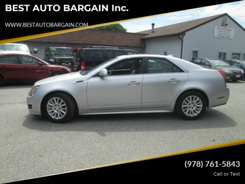 2011 Cadillac CTS for sale at BEST AUTO BARGAIN inc. in Lowell MA