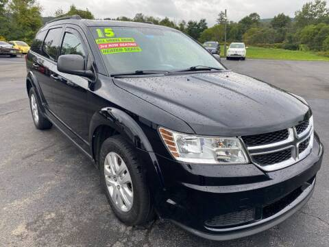 2015 Dodge Journey for sale at HACKETT & SONS LLC in Nelson PA