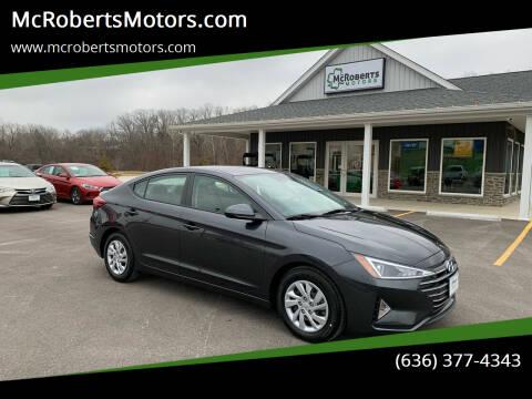 2020 Hyundai Elantra for sale at McRobertsMotors.com in Warrenton MO