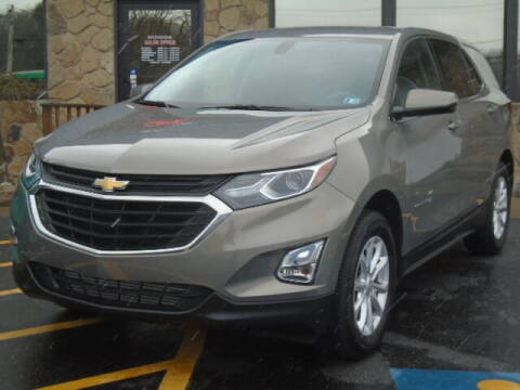 2018 Chevrolet Equinox for sale at Rogos Auto Sales in Brockway PA