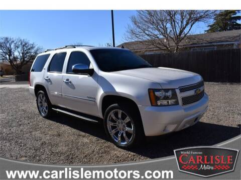 2013 Chevrolet Tahoe for sale at Carlisle Motors in Lubbock TX