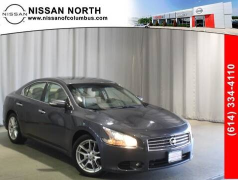 2010 Nissan Maxima for sale at Auto Center of Columbus in Columbus OH