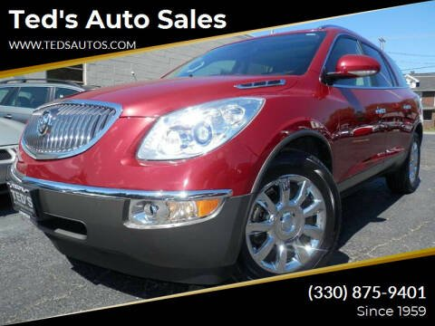 2012 Buick Enclave for sale at Ted's Auto Sales in Louisville OH
