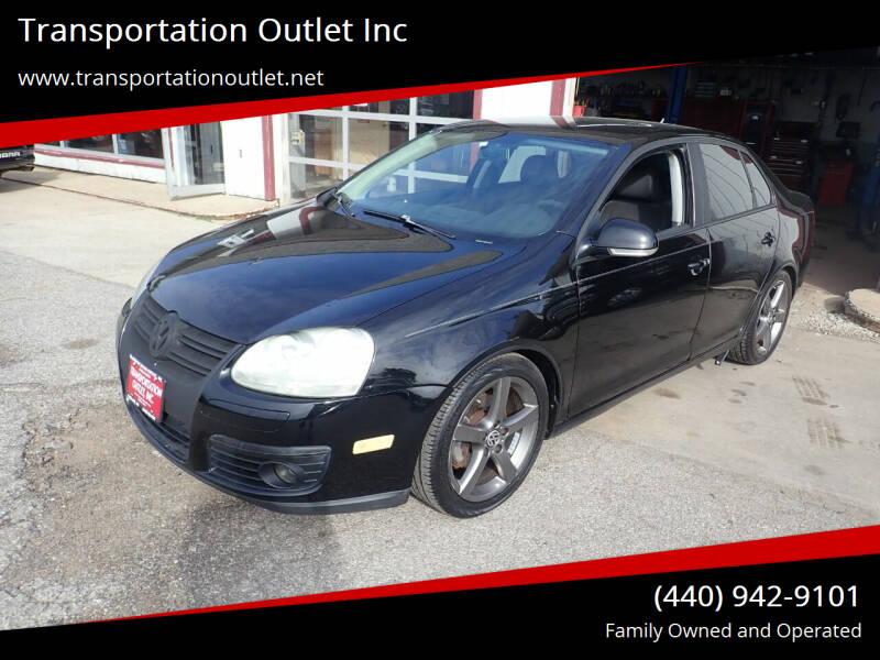 2008 Volkswagen Jetta for sale at Transportation Outlet Inc in Eastlake OH