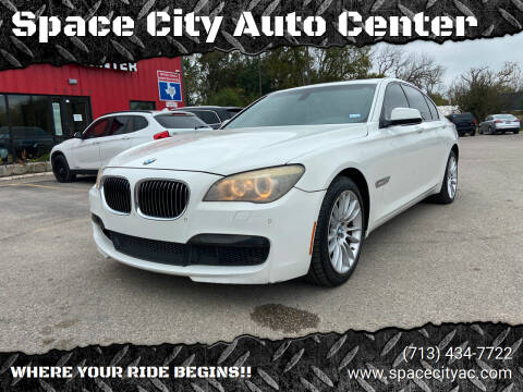 2011 BMW 7 Series for sale at Space City Auto Center in Houston TX