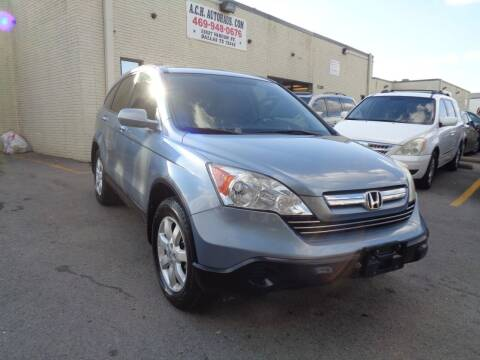 2009 Honda CR-V for sale at ACH AutoHaus in Dallas TX