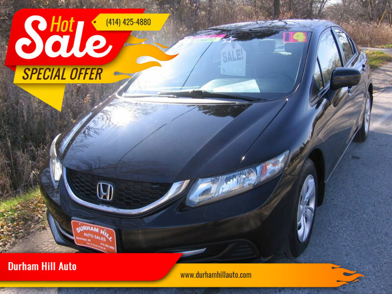 2014 Honda Civic for sale at Durham Hill Auto in Muskego WI