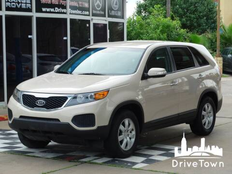 2012 Kia Sorento for sale at Drive Town in Houston TX