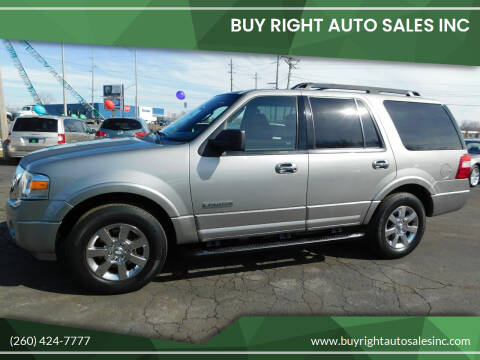 2008 Ford Expedition for sale at Buy Right Auto Sales Inc in Fort Wayne IN