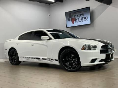 2014 Dodge Charger for sale at Texas Prime Motors in Houston TX