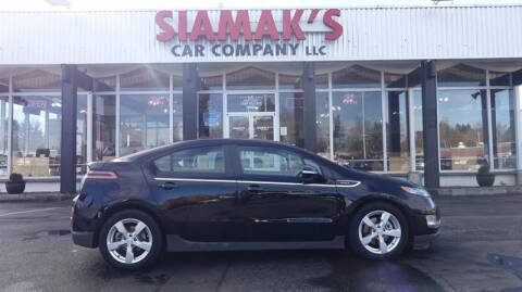 2015 Chevrolet Volt for sale at Siamak's Car Company llc in Salem OR