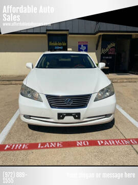 2007 Lexus ES 350 for sale at Affordable Auto Sales in Dallas TX