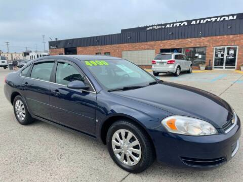 2008 Chevrolet Impala for sale at Motor City Auto Auction in Fraser MI