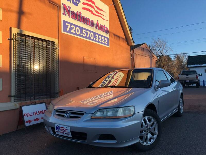 2001 Honda Accord for sale at Nations Auto Inc. II in Denver CO
