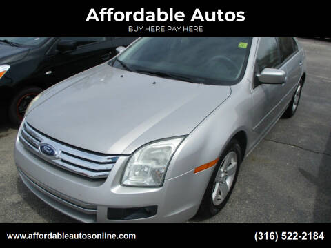 2008 Ford Fusion for sale at Affordable Autos in Wichita KS